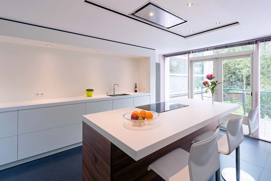 Houten Keuken Greep : Moderne en tijdloos project met Doca keuken in Houten