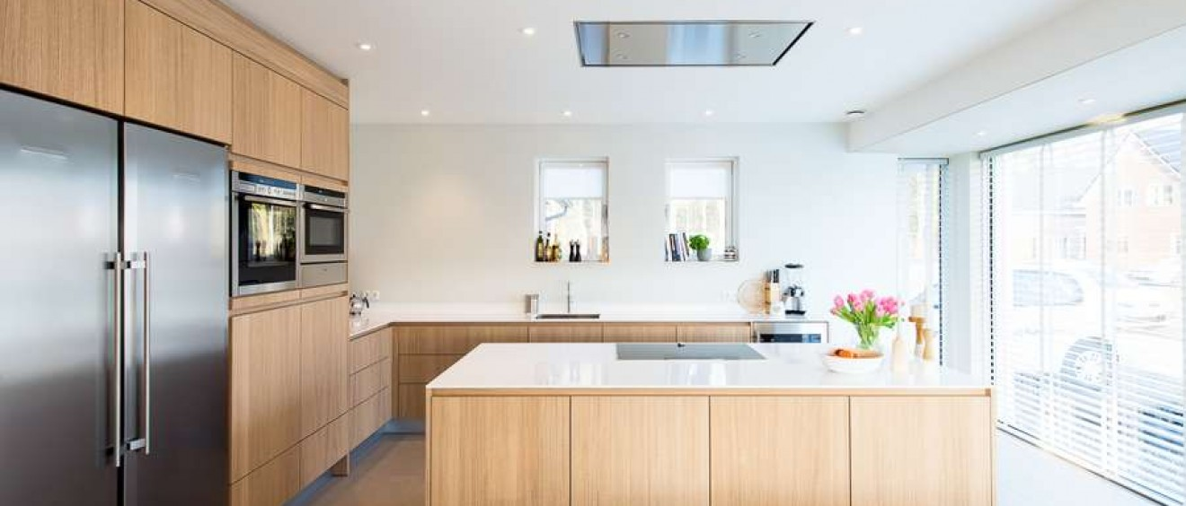 Landelijk moderne keuken