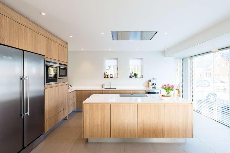 Eiken Keuken Landelijk : Landelijk moderne keuken – KeukenMeyt