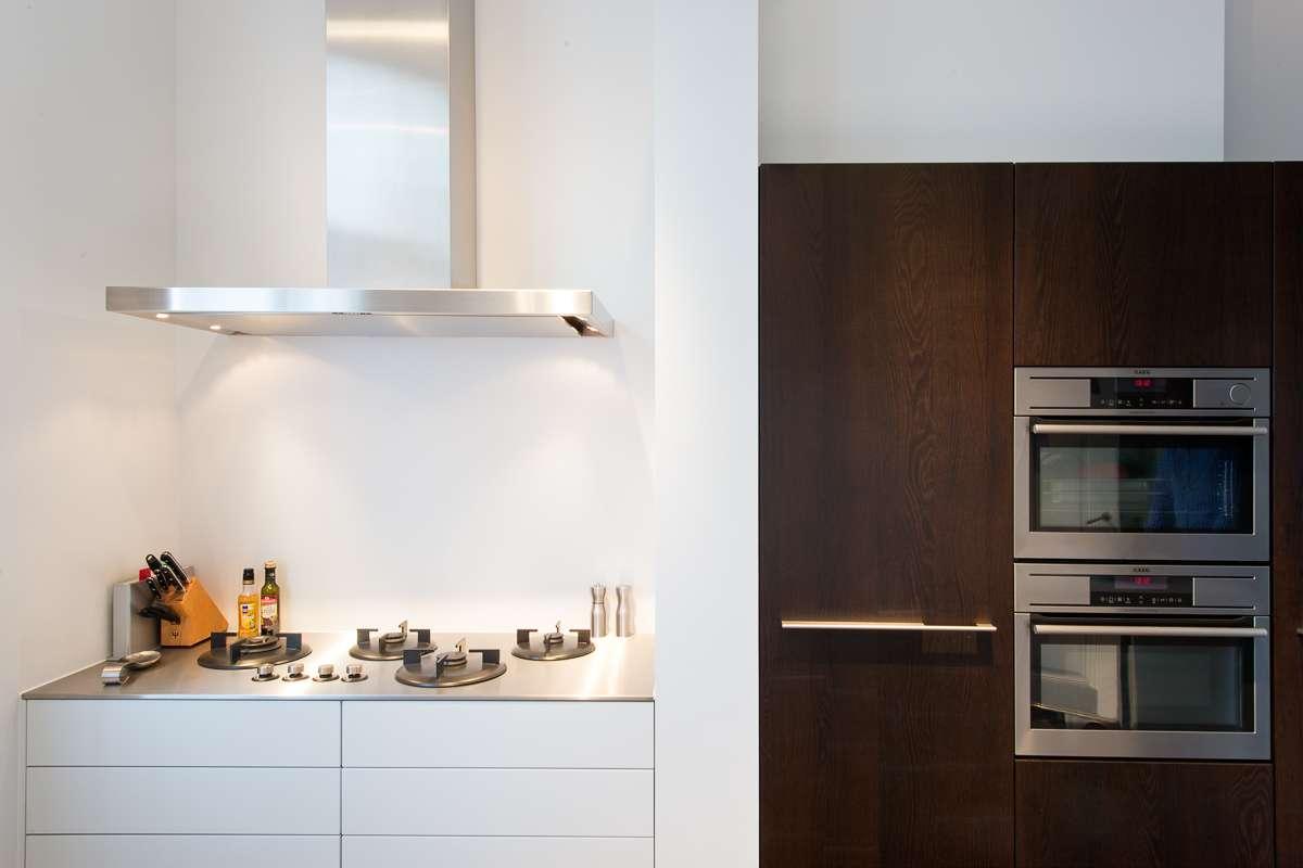 Moderne Keuken In Oud Huis : Moderne keuken in oud herenhuis in Arnhem