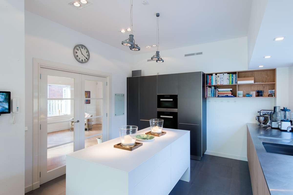 Mooi keuken project in authentieke villa in wassenaar