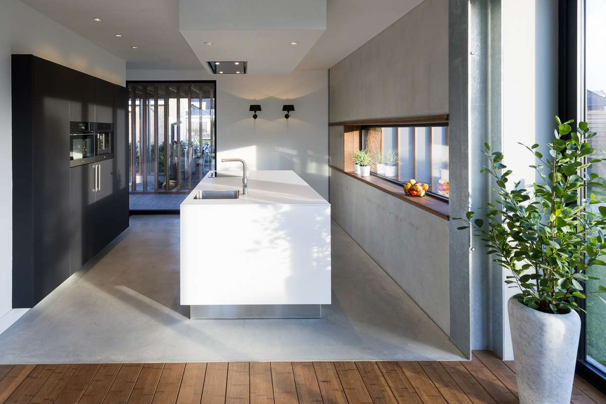 Design Keukens Arnhem : Design keuken onder architectuur gebouwde ...