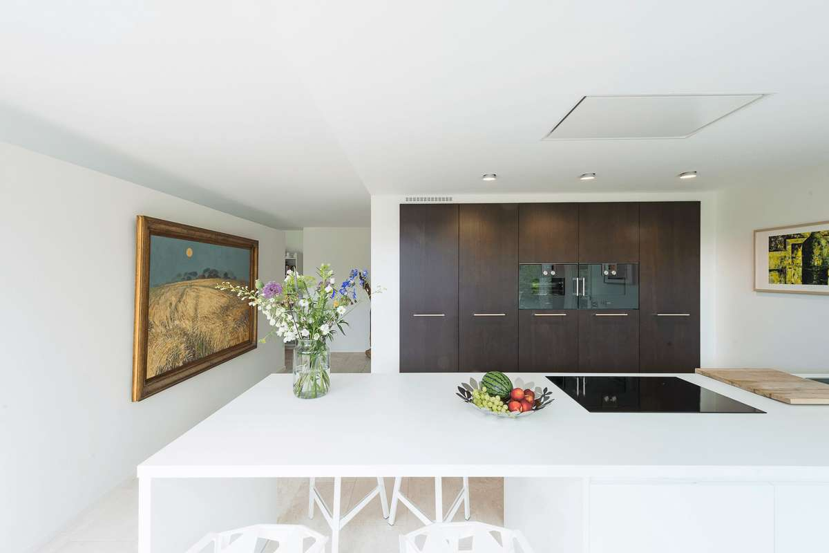 Moderne luxe villa keuken luxe moderne villa in la corona javea