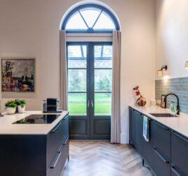 poedercoating moderne keuken
